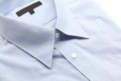 蓝色企业衬衣 免版税库存图片