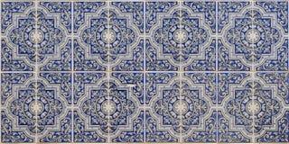蓝色伊斯兰模式 库存图片