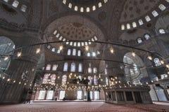 蓝色伊斯坦布尔清真寺火鸡 免版税库存图片