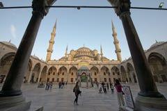 蓝色伊斯坦布尔清真寺火鸡 库存图片