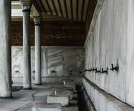 蓝色伊斯坦布尔清真寺 库存照片