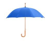 蓝色伞 图库摄影