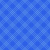 蓝色传染媒介无缝的几何样式 免版税库存照片