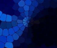 蓝色传染媒介多角形例证包括的长方形 您的事务的长方形设计 库存图片