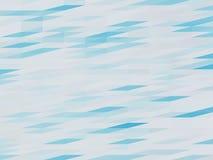 蓝色低多背景 免版税库存照片