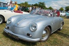 蓝色保时捷356 Speedster 库存图片