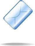 蓝色信包 图库摄影
