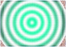 蓝色催眠漩涡摘要背景 库存图片