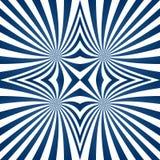蓝色催眠漩涡设计 皇族释放例证