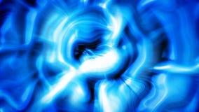 蓝色光流动抽象行动背景 股票视频