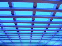 蓝色光 库存图片