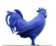 蓝色公鸡特拉法加广场伦敦 库存图片