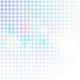 蓝色六角形摘要背景 免版税库存照片
