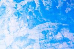 蓝色具体水泥 免版税库存图片