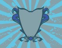 蓝色冠 库存照片