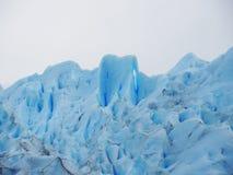 蓝色冰城堡 免版税库存图片