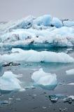 蓝色冰山 图库摄影