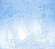 蓝色冰的例证 库存照片