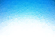 蓝色冰纹理背景 免版税库存图片