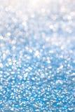 蓝色冰纹理 免版税图库摄影