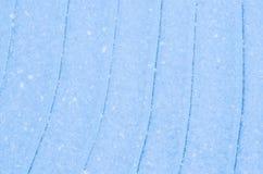 蓝色冰背景纹理 免版税库存图片