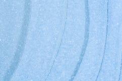 蓝色冰背景纹理 库存照片