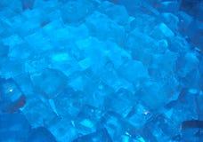 蓝色冰 免版税库存图片