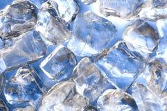 蓝色冰 免版税库存照片
