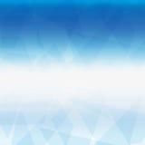 蓝色冷的背景 库存例证
