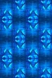 蓝色冷静玻璃马蒂尼鸡尾酒模式 库存照片