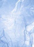 蓝色净鞋带 免版税库存图片