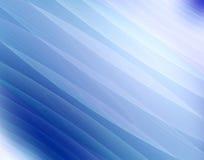 蓝色分数维通知 免版税库存图片