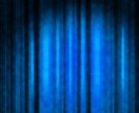 蓝色剧院窗帘 图库摄影