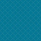 蓝色加点无缝的样式 库存照片