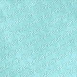 蓝色压印的模式通知 库存照片
