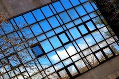 蓝色反映视窗 免版税图库摄影