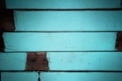 蓝色口气装饰概略的木墙壁纹理背景 免版税库存照片