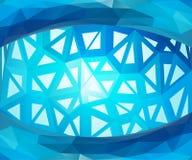 蓝色向量背景 库存图片
