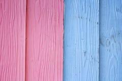 蓝色和桃红色背景 免版税库存照片