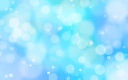 蓝色和白光火光背景 图库摄影