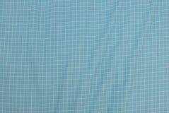 蓝色和白色伐木工人格子花呢披肩无缝的样式 库存照片