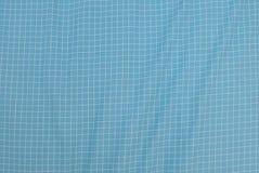 蓝色和白色伐木工人格子花呢披肩无缝的样式 图库摄影