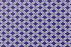 蓝色和白色抽象方格的背景 库存照片