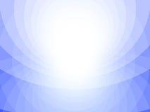 蓝色和白色抽象背景,圈子 免版税库存照片