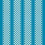 蓝色和白色方格的抽象背景 向量例证