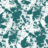 蓝色和白色无缝的背景 免版税图库摄影