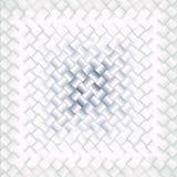 蓝色和白色瓦片样式,最低纲领派背景 免版税库存照片