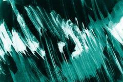 蓝色和白色画笔冲程背景 向量例证
