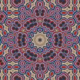 蓝色和红色背景 抽象凹道 皇族释放例证