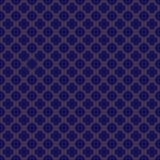 蓝色和金无缝的样式 向量例证